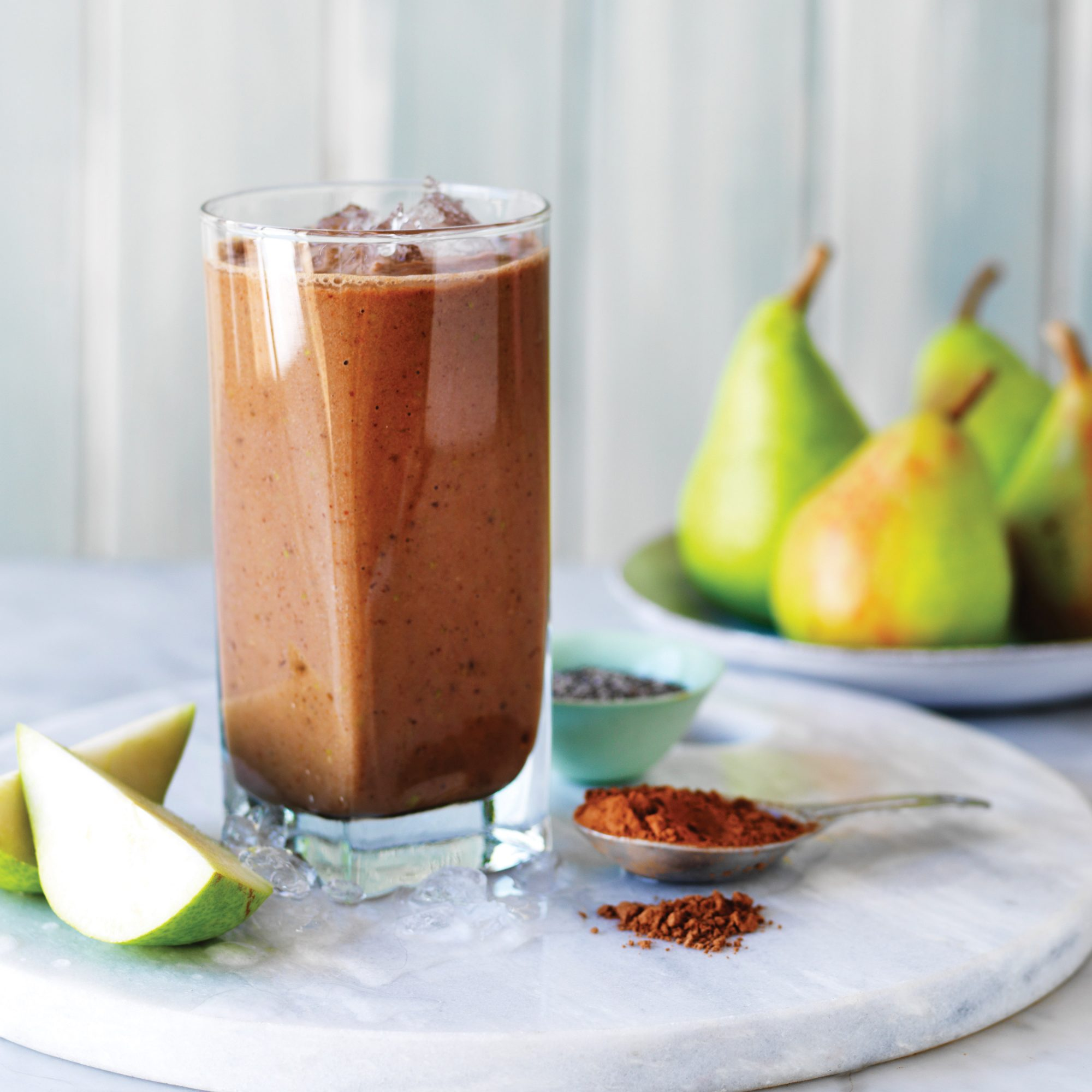 Chocolate Pear Smoothie